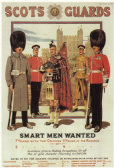 SCOT'S GUARDS RECRUITMENT POSTCARD